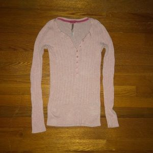Pink Aeropostale Ribbed Sweater   NWOT